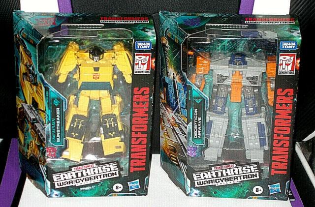 Transformers Generations War for Cybertron: Earthrise Sunstreaker, Airwave new