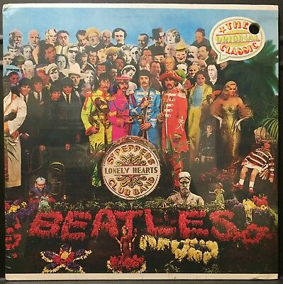 The Beatles Sgt. Peppers SEALED USA 1976 Capitol Records