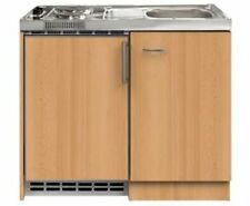 Miniküche Mit Kühlschrank Kaufen : Mebasa mk singleküche mit oberschrank kühlschrank herd günstig