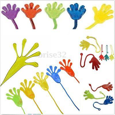 5/10Pcs Kids Party Supply Favour Mini Sticky Jelly Stick Slap Squishy Hands Toy