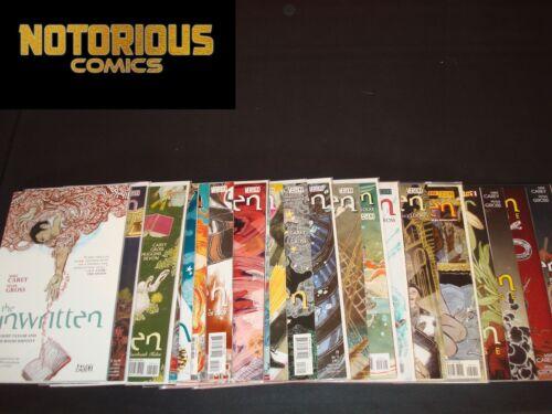 Unwritten Vol 1 TPB 6-30 Complete Vertigo Comic Lot Run Carey EXCELSIOR BIN