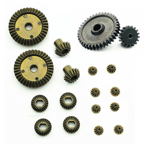 Full set Metal Gear Differential Pinion Gear for WLtoys 1//18 A969 K929 RC Car