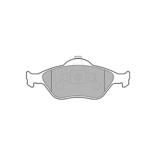 Fits Ford Fiesta MK6 1.6 TDCi Genuine Delphi Front Disc Brake Pads Set