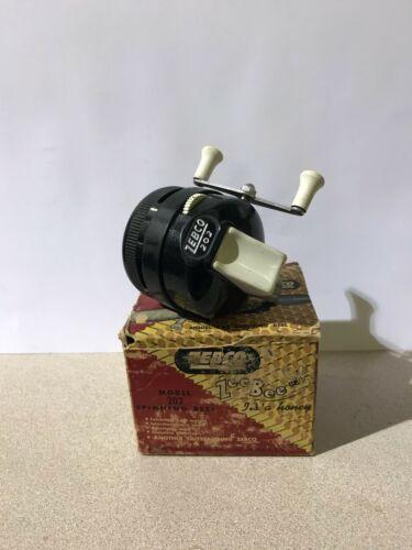 Vintage ZEBCO Zee Bee Spinning Reel Modèle 202 avec boite