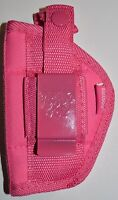 Bulldog Pink Nylon Gun Holster For Taurus 38 Special 5 Shot