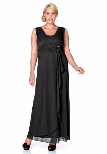 K-Gr NEU!! Langes Kleid SHEEGO KP 119,99  € /%SALE/% Schwarz