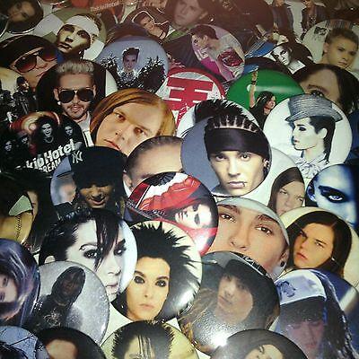 Tokio Hotel Buttons