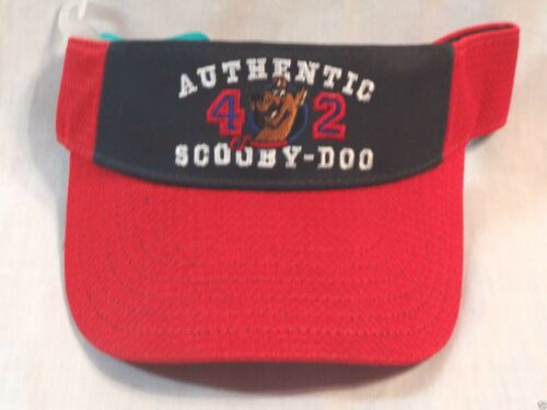 NEW WITH TAG  RED SCOOBY DOO YOUTH 8-16   VISOR