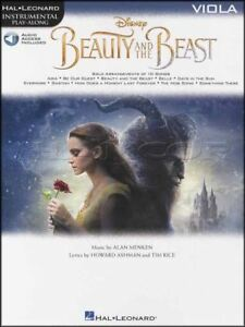 Candide Beauty And The Beast Instrumental Play-along Pour Alto Musique Livre Audio/vidéo-afficher Le Titre D'origine Sensation Confortable