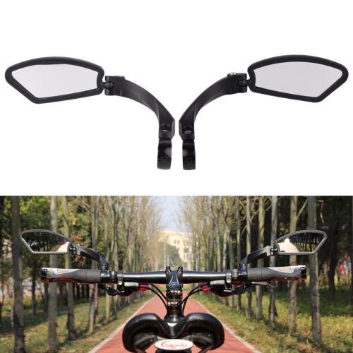 1 Pair Bicycle Bike Cycling Handlebar Rear View Mirror MTB Road Bike Rearview