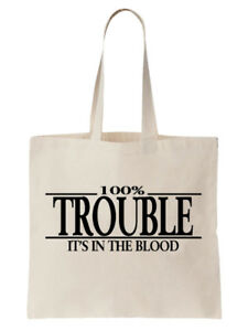 Trouble-Tote-Shoulder-Bag-Statement-Shopper-Gift-Funny-Birthday-Joke-Naughty