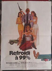 Affiche-REFROIDI-A-99-99-and-44-100-Dead-RICHARD-HARRIS-Frankenheimer-60x80