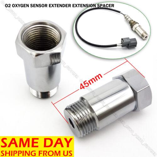O2 OXYGEN SENSOR EXTENDER EXTENSION SPACER M18 x1.5 BUNG HHO ADAPTER OBD2 02 CEL