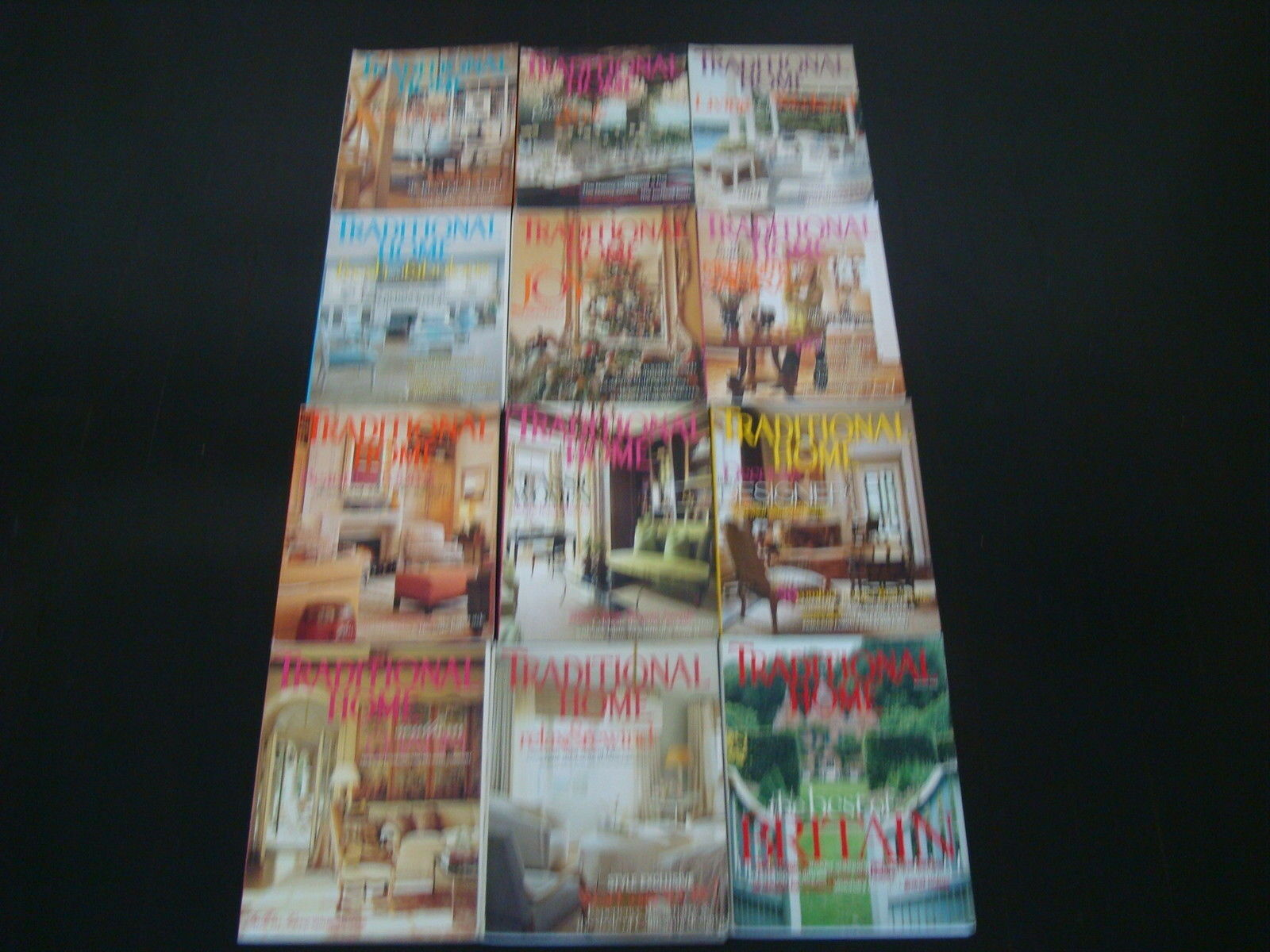 12  TRADITIONAL HOME DECORATING MAGAZINES LOT GREAT DECORATING IDEAS