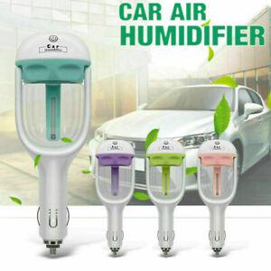Mini Car Air Humidifier Essential Oil Diffuser Ultrasonic Aroma Mist Purifier