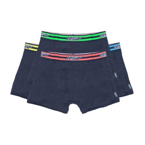 RST Da Uomo Pantaloncini Boxer Intimo MOTO CONFEZIONE DA 4 colori diversi idea regalo