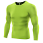 Shirt-Men-Compression-Base-Layer-Tight-Under-Skin-Long-Sleeve-Plus-Size-Shirt thumbnail 10