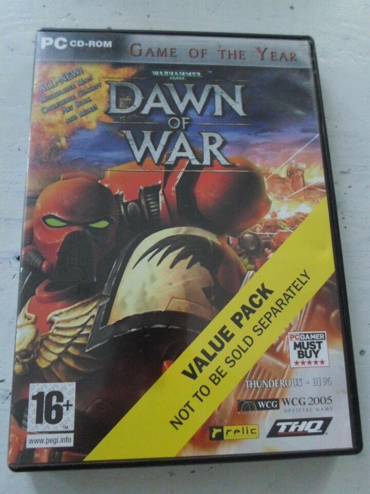 Warhammer 40.000: Dawn of War, til pc, MMORPG
