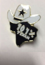 101% TEXAN COWBOY HAT TEXAS STATE LAPEL PIN HAT TAC NEW