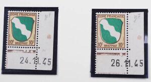 Franzoesische-Zone-postfrische-Spezial-Sammlung-Druckdaten-Eckrandstuecke-etc