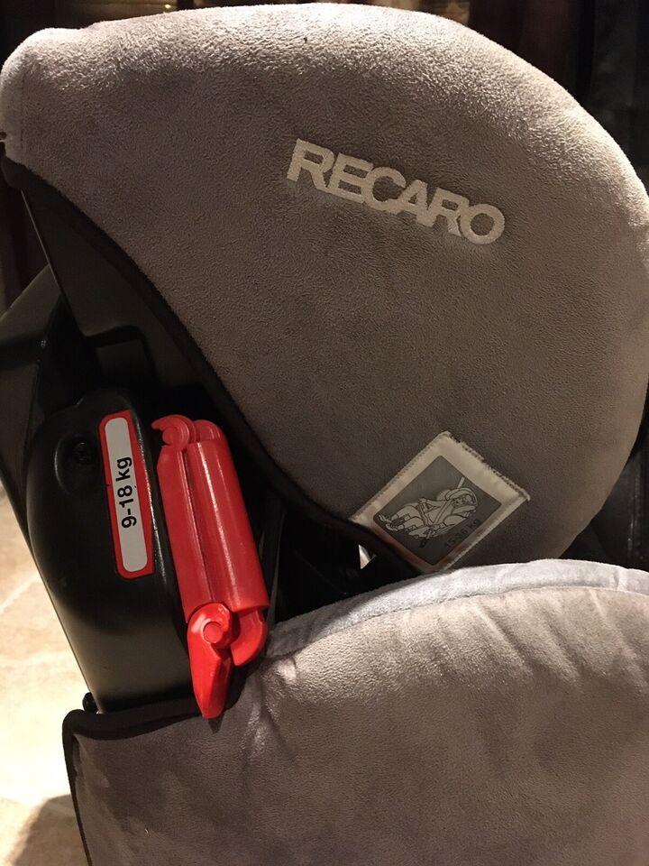 Autostol, op til 36 kg , Recaro Young sport