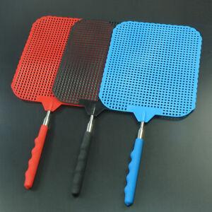 76-cm-Extendable-BIG-Swatter-Plastic-Telescopic-Mosquito-Fly-Prevent-Catcher