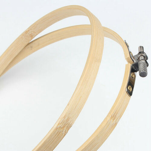 10//20 PCS 5 Inch DIY Bamboo Embroidery Hoops Round Wooden Circle Cross Stitch
