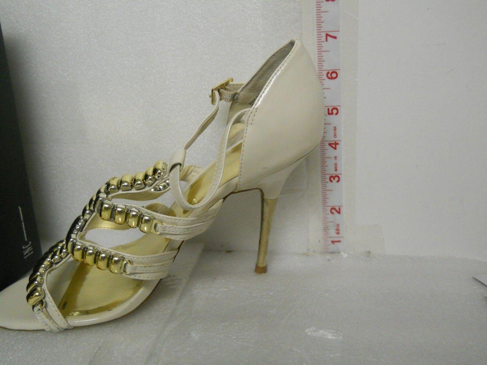 INC International Concepts NEU Damenschuhe Lorna WEISS Bone Heels 8.5 M Schuhes