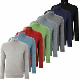 Callaway-Mens-Golf-1-4-Zip-Windstopper-Sweater-Thermal-Pullover