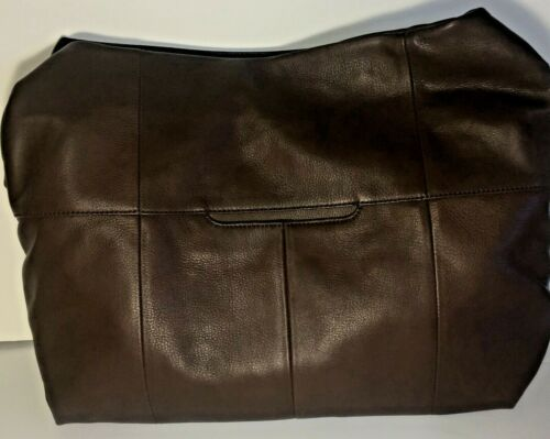 Hobo International Linwood Large Leather Bag Handbag Purse Walnut Brown NWT