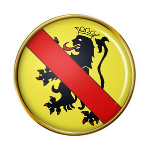 Namur-Belgique-Broche-Badge