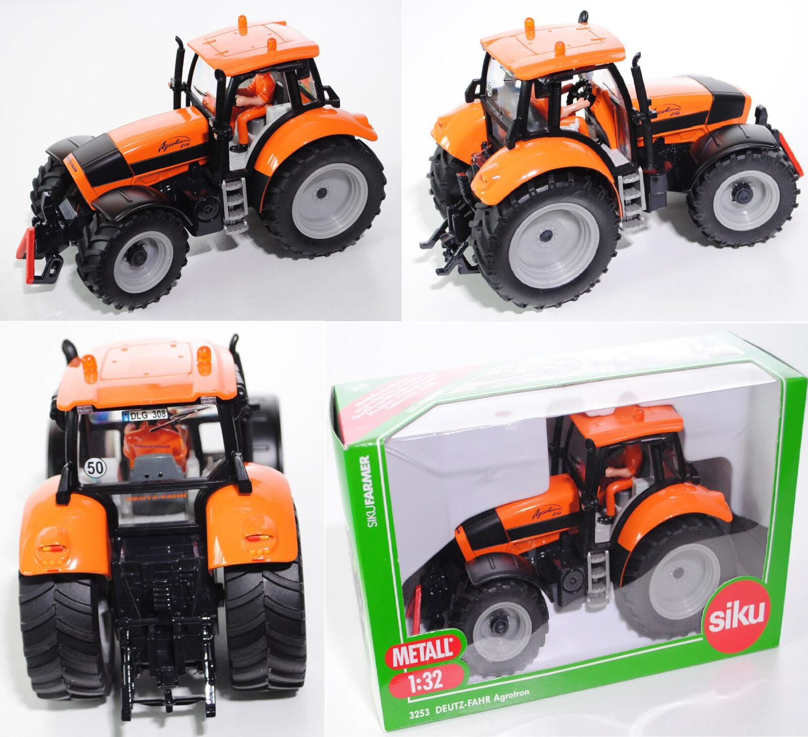 Siku Farmer 3253 Deutz-Fahr agrojoron 210 tractor, 1 32, colección sikumuseum