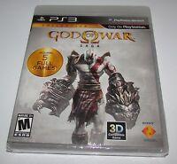 God Of War Saga For Playstation 3 Brand Factory Sealed Fast Shipping