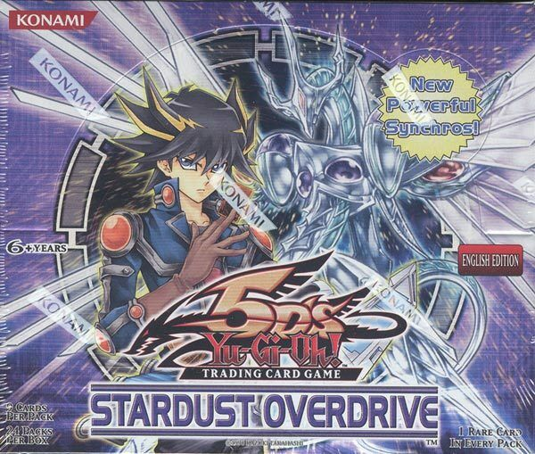 YUGIOH STARDUST OVERDRIVE BOOSTER 12 BOX CASE BLOWOUT CARDS
