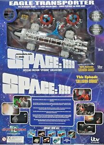 Sixteen12-Space-1999-12-034-Eagle-039-Collision-Course-039-New-Die-cast-Model-1-of-1000