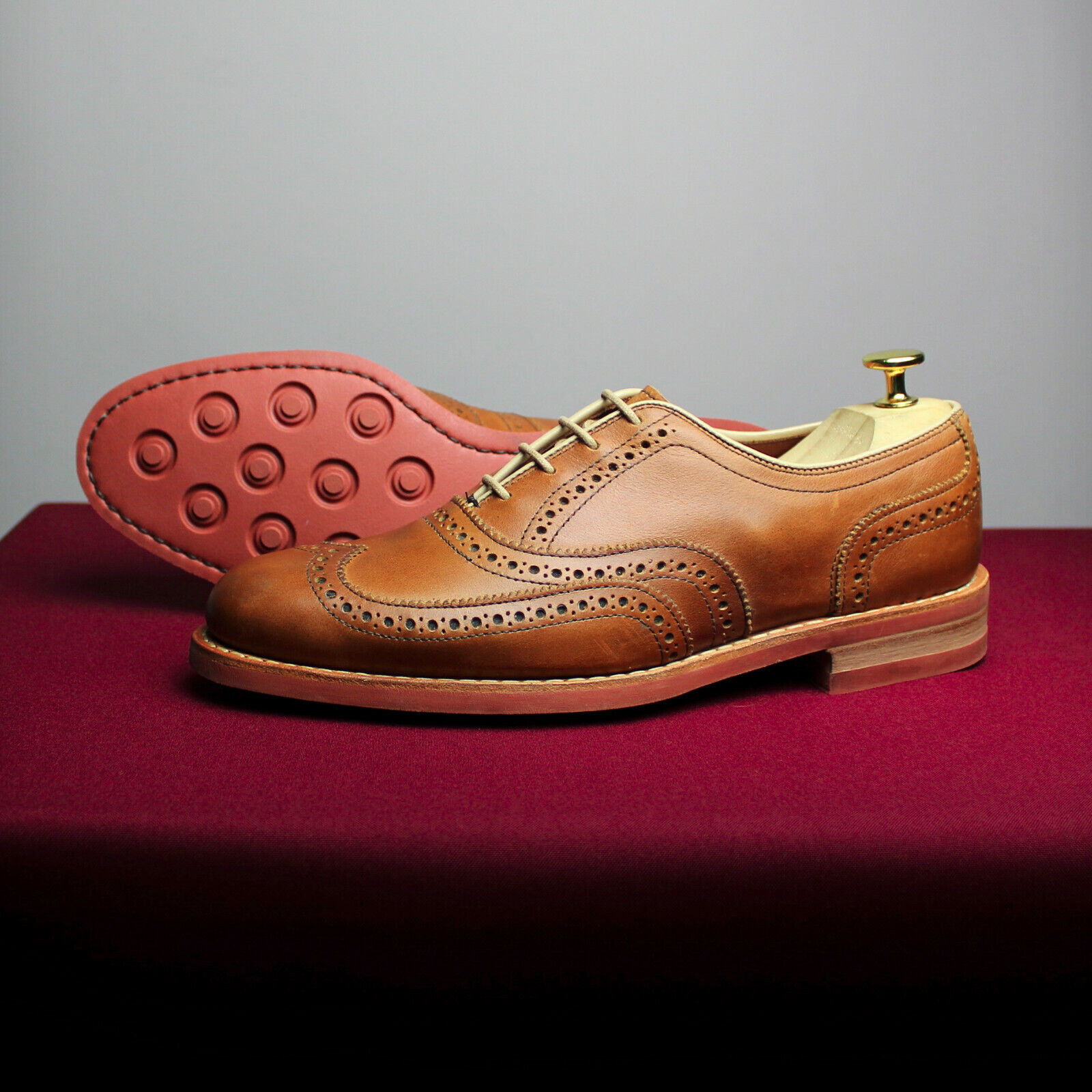 WOLVERINE Leather Brogues size UK 7 US 8 EU 41