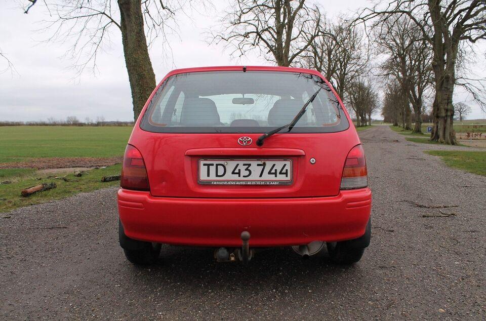 Toyota Starlet, 1,3 XLi S, Benzin