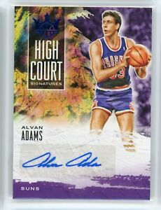 2019-20 Alvan Adams 03/25 Auto Panini Court Kings High Court Signatures