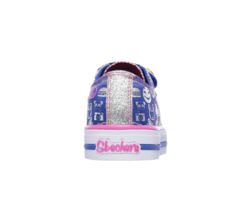 NUOVO Skechers ragazze SNEAKERS Shuffles-expressionista BLU