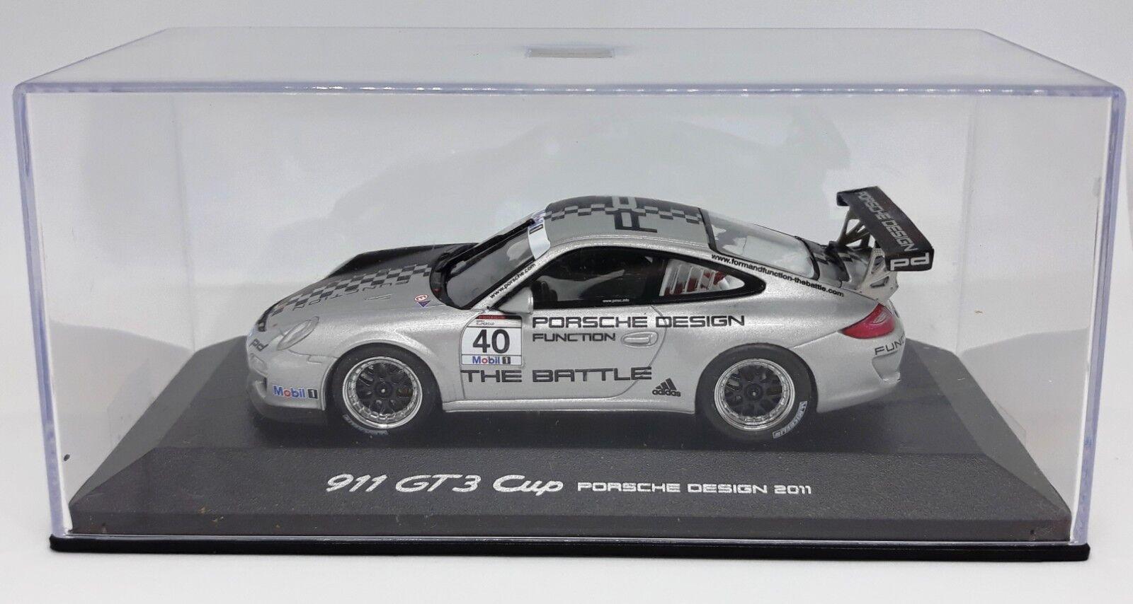 Porsche 911 (997) gt 3 cup design edition 2011 minichamps 143