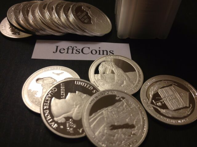 1 Troy Ounce 90% Silver Round Quarters 5x Proof Coin Lot 2015 2016 2017 2018 Oz