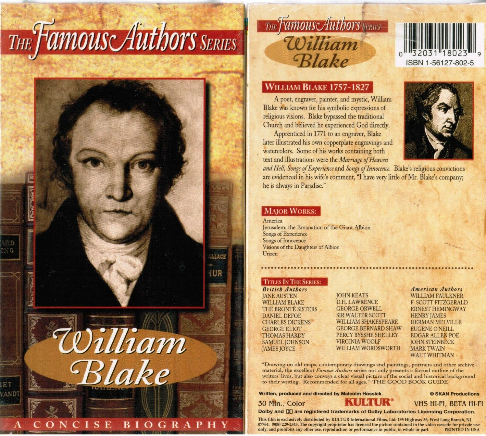 biography of famous authors