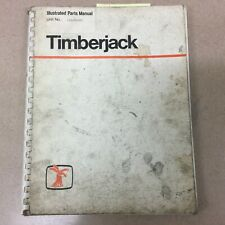 Timberjack Parts Manual Book Catalog Track Skidder List Guide Tree Harvester