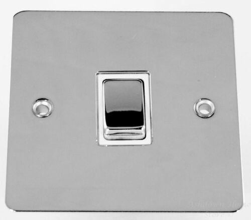 Diy Materials G H Fc205 Flat Plate Polished Chrome 1 Gang Intermediate Rocker Light Switch Home Furniture Diy Pneumec In