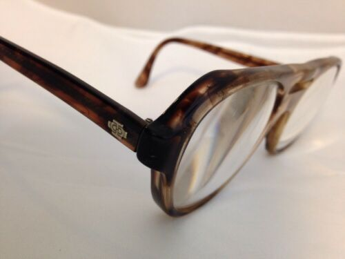 4409a966997 VINTAGE TITMUS SAFETY Eyeglass Frame Z87 53-18-140 Brown 5-3 4 ...
