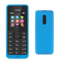 Brandneu Nokia 105 - Cyan-blau (Entsperrt) Handy Günstig Ohne Simlock Original