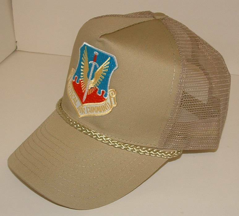 Tactical Air Command TAC High US Air Force Emblematic High TAC Crown Summer Mesh Cap. 919ad1
