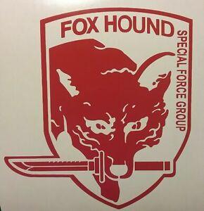 5-5in-FOX-HOUND-Patch-Metal-Gear-Solid-Game-Vinyl-Decal-Sticker-Car-Window-PC