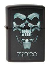 Zippo 218 Skull in Shadow Halloween Lighter RARE