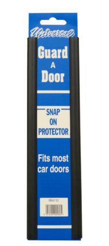 """Car Door Edge Protector Strip 2 x 12/"""" Door Protector Black"""